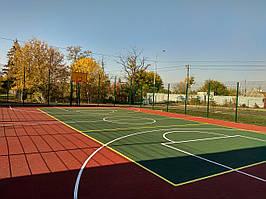 Строительство  баскетбольной площадки под ключ