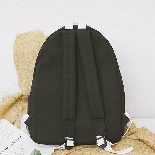 Рюкзак чёрный сзади