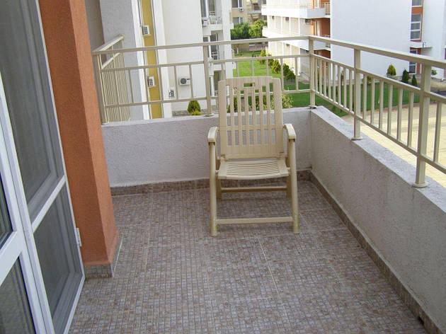 Перила стальные на балкон, фото 2