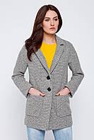 Твидовое женское пальто-жакет Nio Кalvi