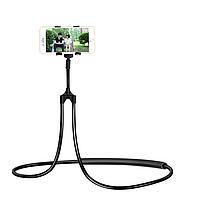 Ленивый держатель для телефона Черный (29048)