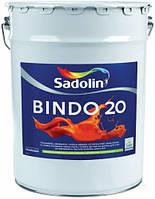 Полуматовая краска для стен и потолка Sadolin Bindo 20 prof (Садолин Биндо 20) 20л