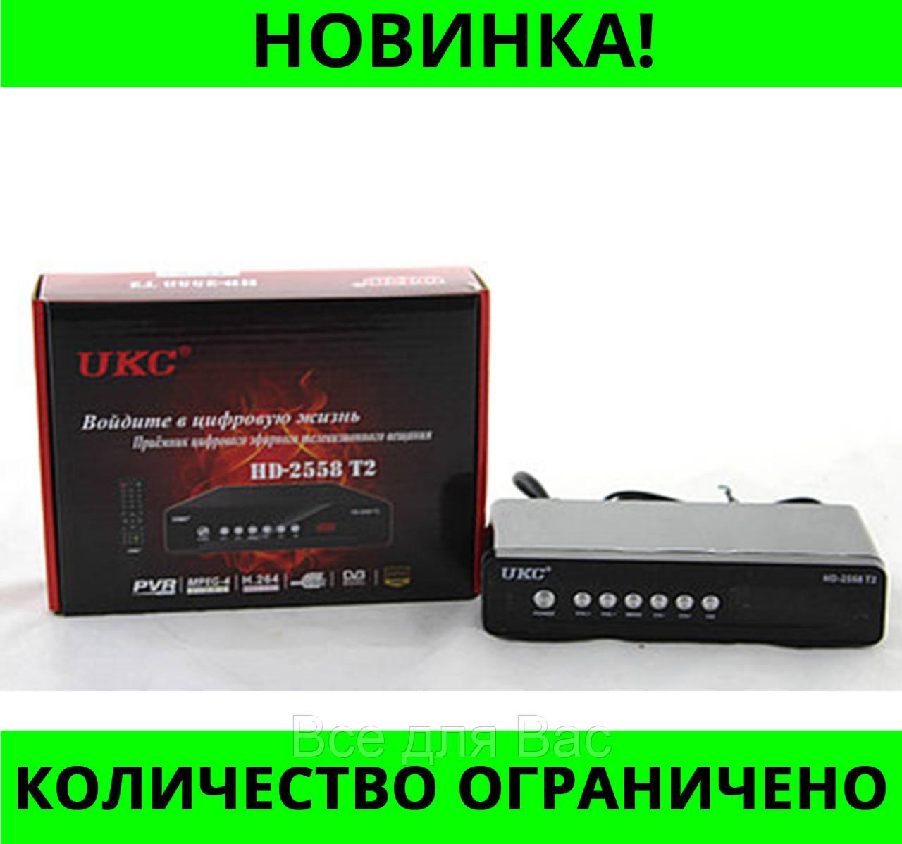 Тюнер DVB-T2 2558 METAL с поддержкой wi-fi адаптера!Розница и Опт