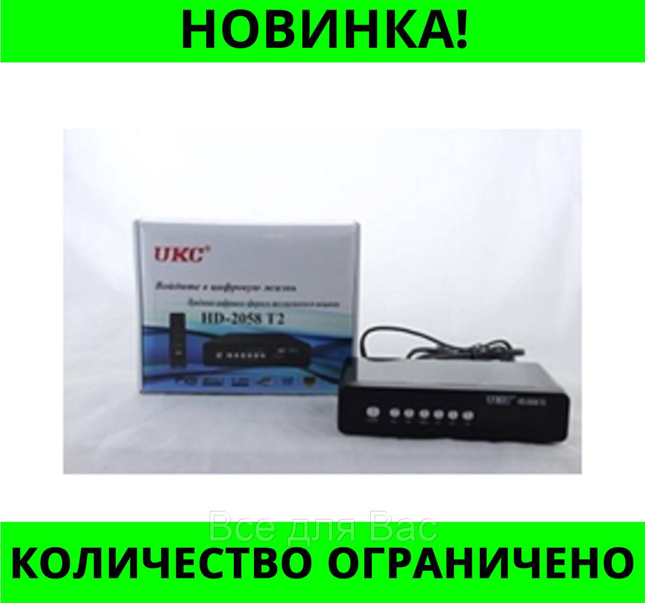 Тюнер DVB-T2 2058 METAL с поддержкой wi-fi адаптера!Розница и Опт
