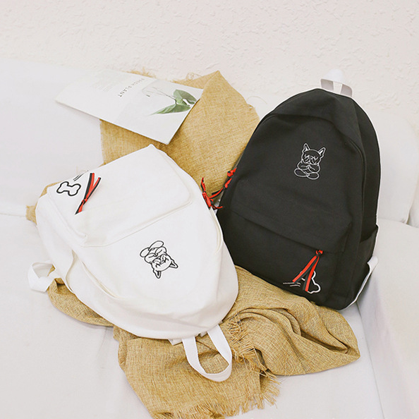Рюкзачки белый и чёрный
