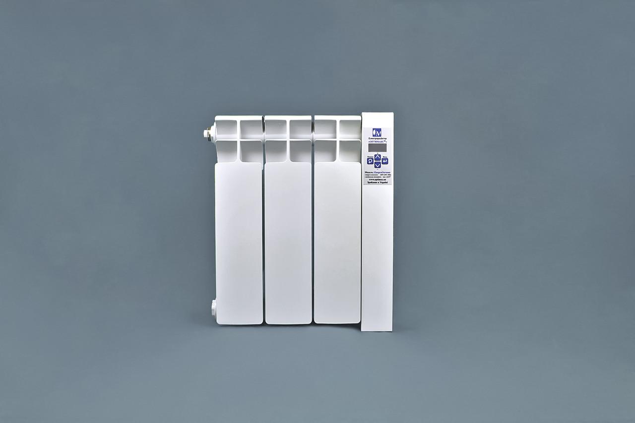 Электрорадиатор ОптиМакс низкопольный на 3 секции 360Вт