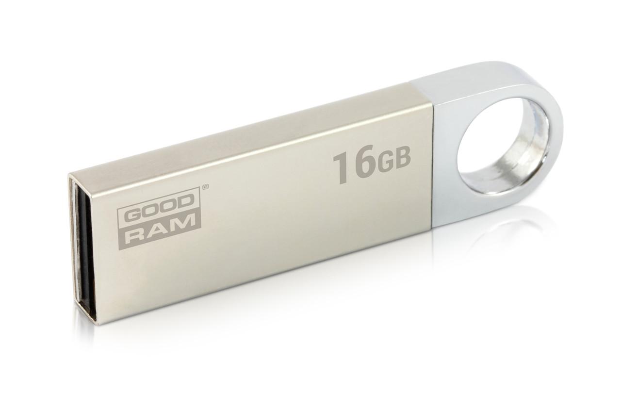 Флеш-накопитель USB 16GB GOODRAM UUN2 (Unity) Silver (UUN2-0160S0R11)