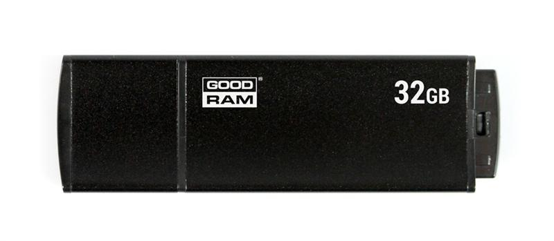 Флеш-накопитель USB3.0 32GB GOODRAM UEG3 (Edge) Black (UEG3-0320K0R11)