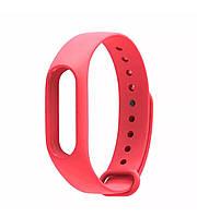Ремешок для фитнес браслета, трекера Xiaomi Mi Band 2 (красный) для девушек