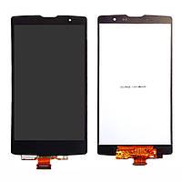 Дисплей модуль LG G4c H522Y, H525N, H525Y, чорний, оригінальний