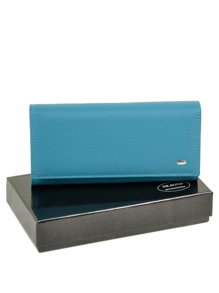Гаманець Classic шкіра DR. BOND W807 l-blue
