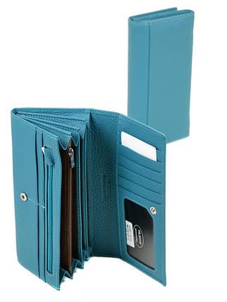 Гаманець Classic шкіра DR. BOND W807 l-blue, фото 2