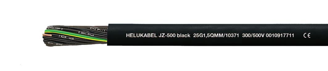 Кабель JZ-500 black