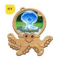 Деревянный магнит, магнит на холодильник  Черноморск, фото 1