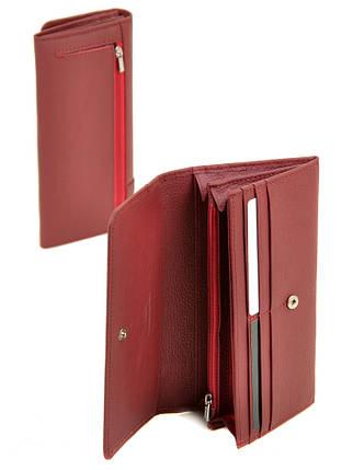 Кошелек Classic кожа DR. BOND WS-1 scarlet, фото 2