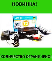 Тюнер DVB-T2 LCD с поддержкой wi-fi адаптера+Megogo!Розница и Опт, фото 1