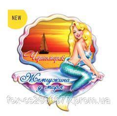 Деревянный магнит, магнит на холодильник  Черноморск