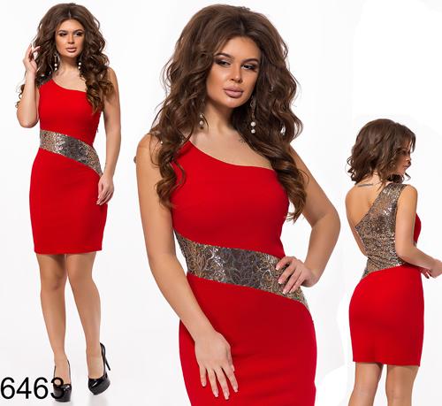 478c98b0d8b Купить Вечернее летнее платье с пайетками (красный) 286463 Украина ...