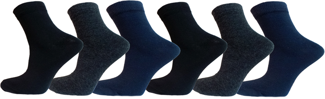 """Дитячі шкарпетки хлопчик однотон мікс""""lomani"""""""