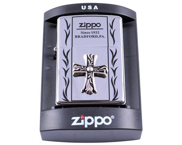 Зажигалка бензиновая Zippo BRADFORD,PA. №4234-3, фото 2