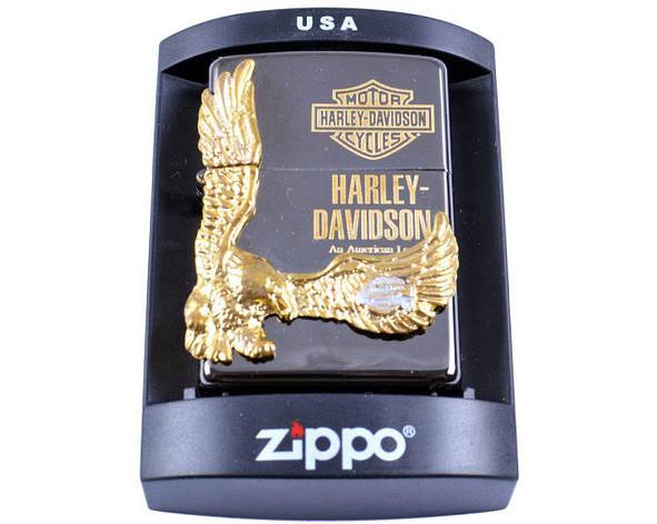 Зажигалка бензиновая Zippo Harley-Davidson №4208, фото 2