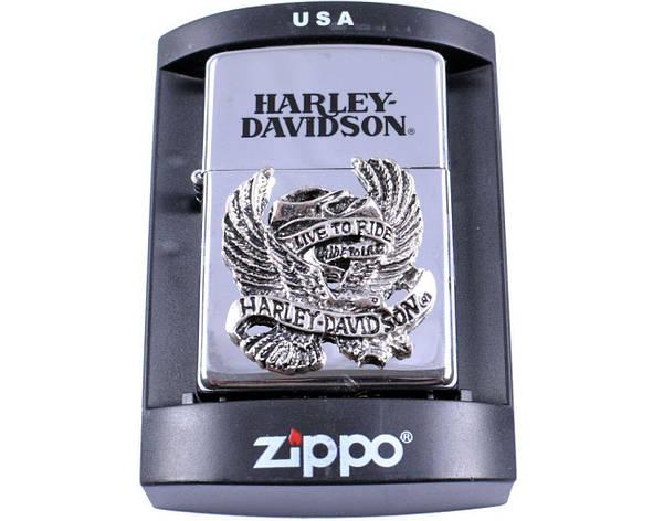 Зажигалка бензиновая Zippo Harley-Davidson №4215-2, фото 2