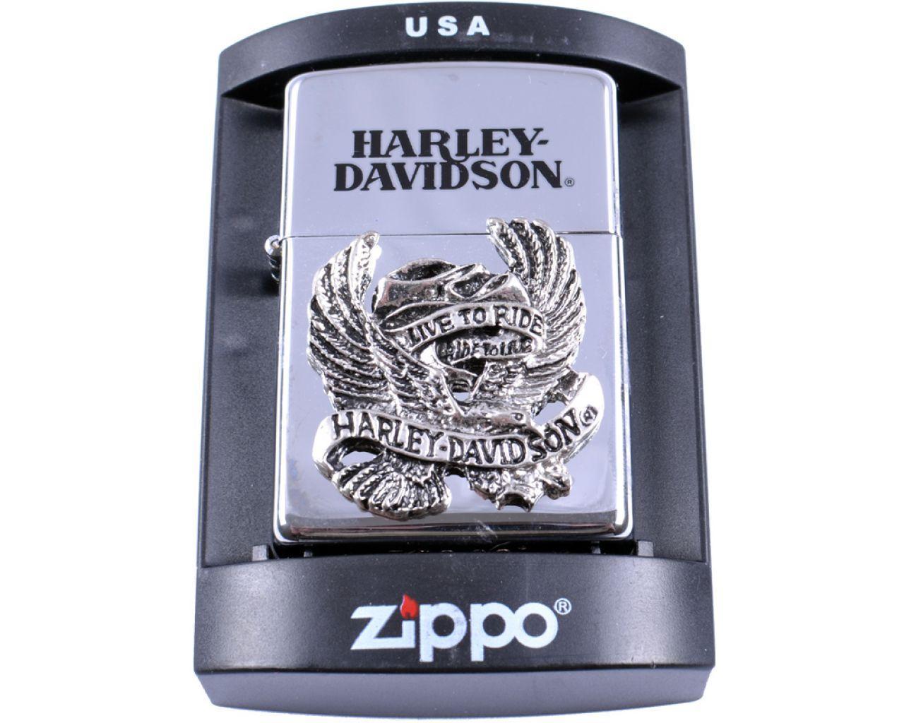 Зажигалка бензиновая Zippo Harley-Davidson №4215-2
