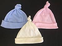 Шапочка для немовлят (стрейч-кулір),р. 0-3 міс, 3-6 міс Шп2305