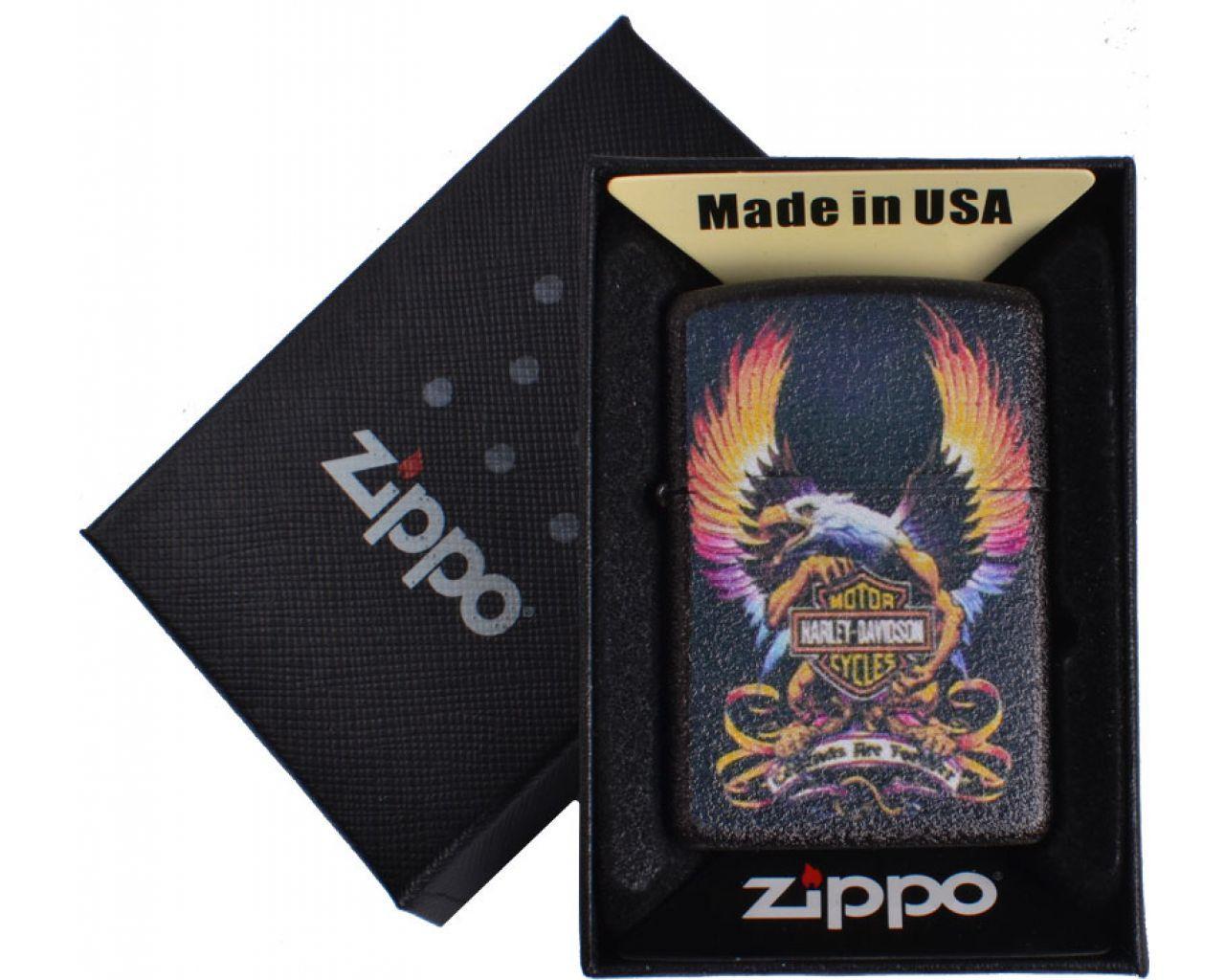 Зажигалка бензиновая Zippo HARLEY-DAVIDSON в подарочной упаковке №4739-5