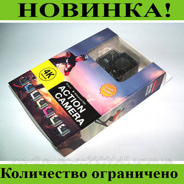 Экшн-камера Action camera DVR SPORT S2 Wi-Fi waterprof 4K!Розница и Опт