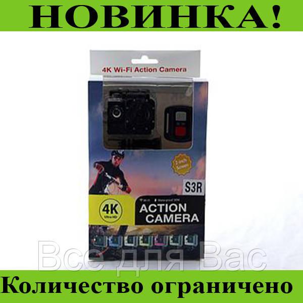DVR SPORT Экшн камера с пультом S3R remote Wi Fi waterprof 4K!Розница и Опт