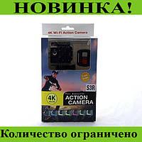 DVR SPORT Экшн камера с пультом S3R remote Wi Fi waterprof 4K!Розница и Опт, фото 1