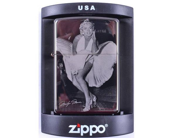 Зажигалка бензиновая Zippo Marilyn Monroe №4220-4, фото 2