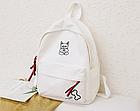 Рюкзак молодёжный белый, фото 8