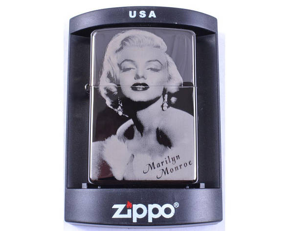 Зажигалка бензиновая Zippo Marilyn Monroe №4222-5, фото 2