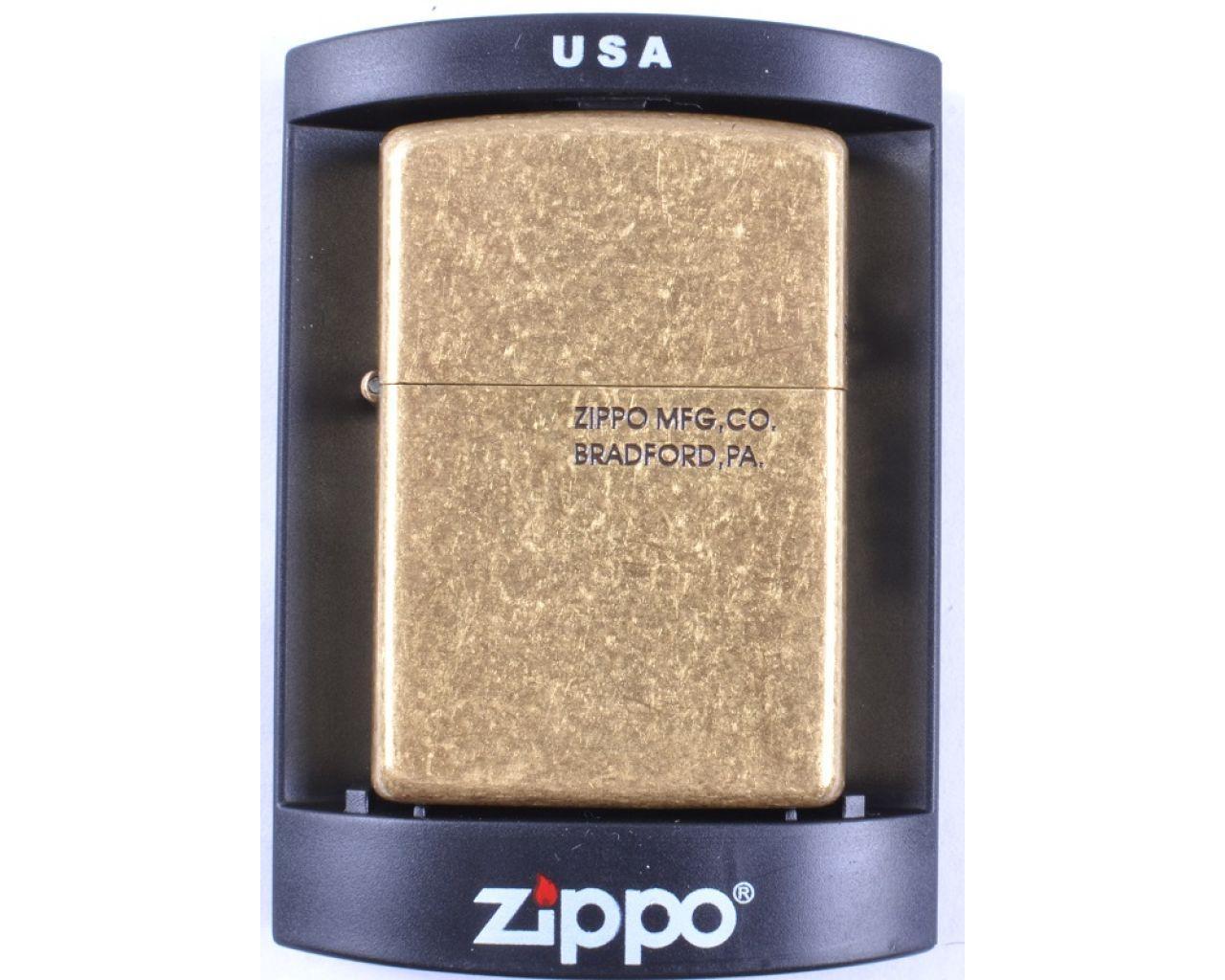 Зажигалка бензиновая Zippo MFG,CO.BRADFORD,PA. №4239