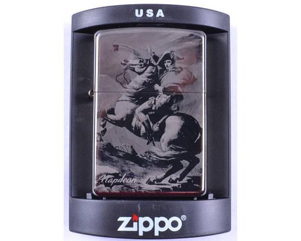 Зажигалка бензиновая Zippo Napoleon №4220-2, фото 2