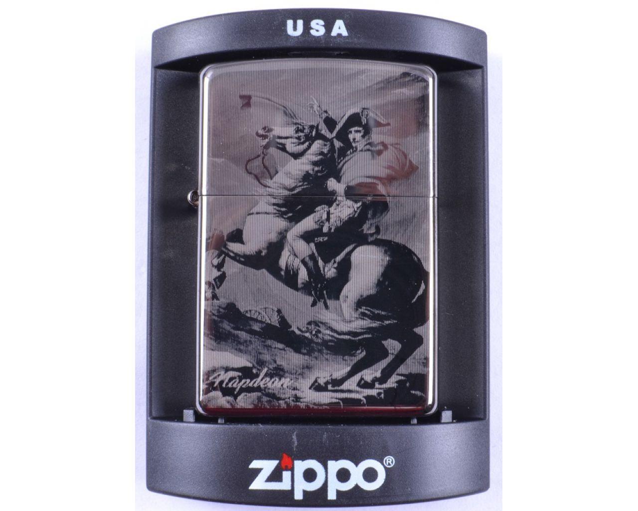 Зажигалка бензиновая Zippo Napoleon №4220-2