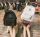 Рюкзак молодёжный белый, фото 10