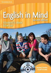 English in Mind 2nd Edition Starter Student's Book with DVD-ROM