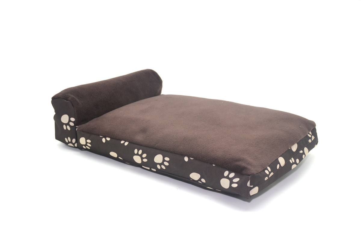 Матрас для собак и котов Глория коричневый + коричневый №2 400х550х120+90