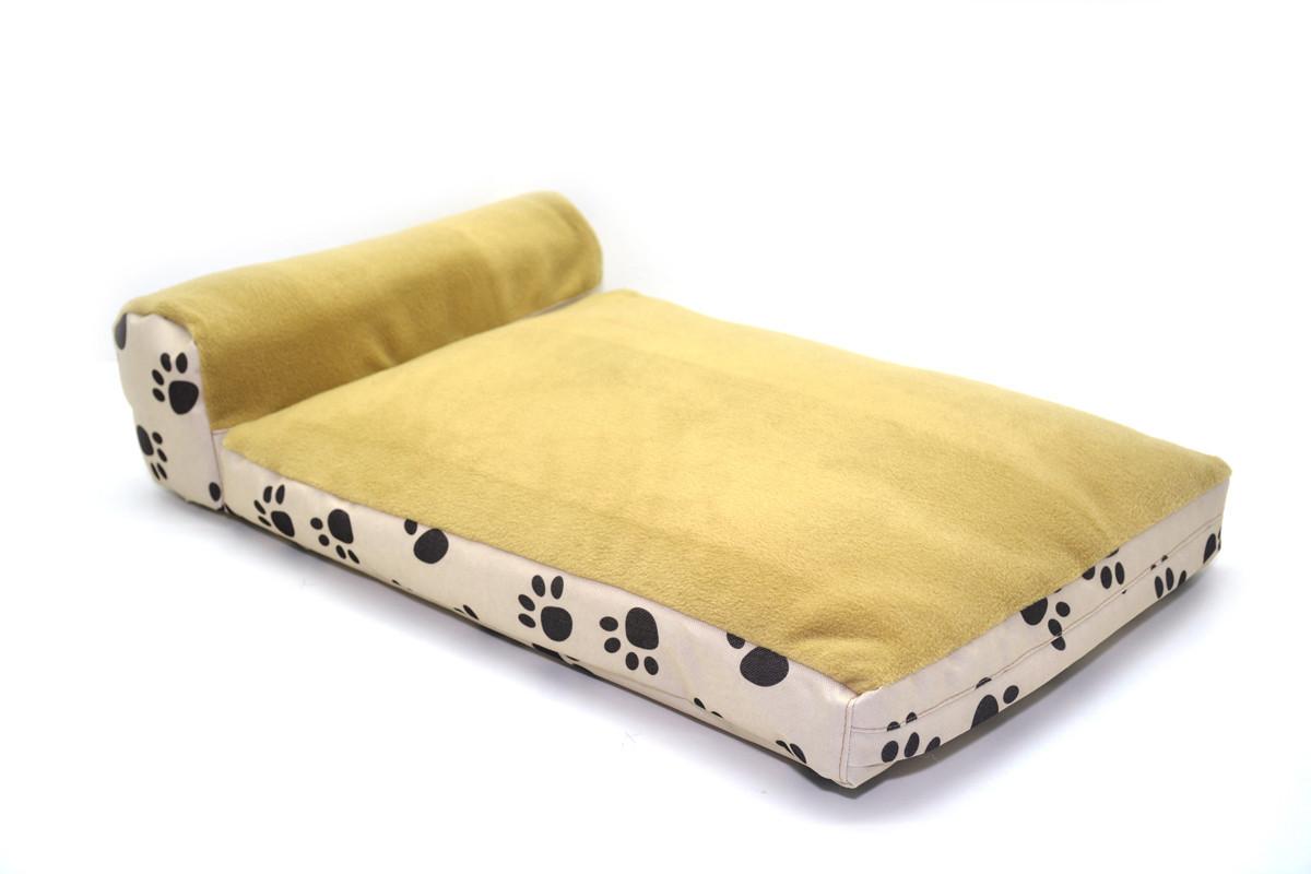 Матрас для собак и котов Глория беж + беж №6 800х1150х120+140