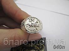 """Срібний перстень """"Георгій Побідоносець"""""""