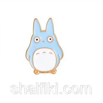 """Тю Тоторо (Мой сосед Тоторо / My neighbor Totoro)"" значок (пин) металлический"