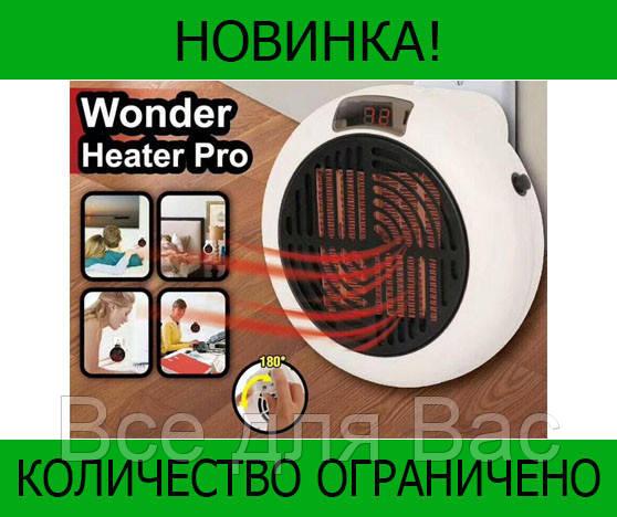 Тепловентилятор с дисплеем Wonder Heater Pro!Розница и Опт