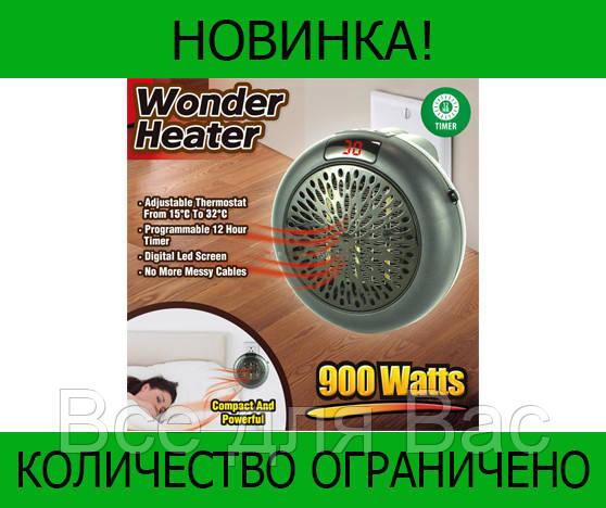 Тепловентилятор с дисплеем Wonder Heater 900w!Розница и Опт