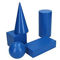 Набір об'ємних геометричних фігур 5шт