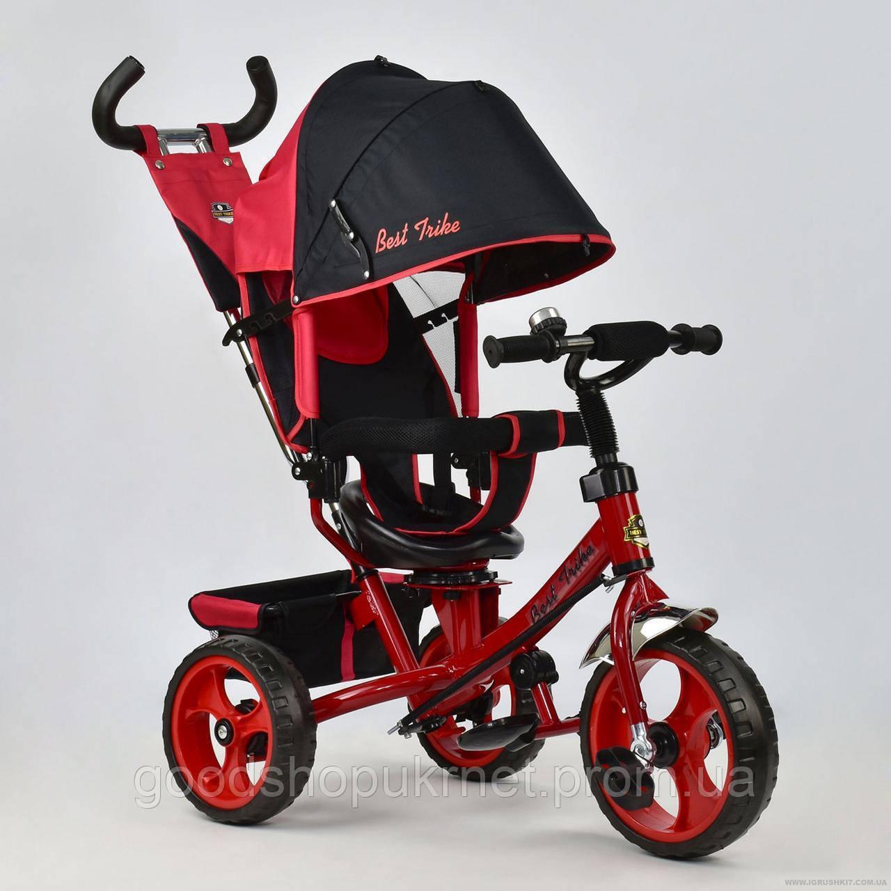 Детский трехколесный Велосипед Best Trike 5700 - 4670, Красный