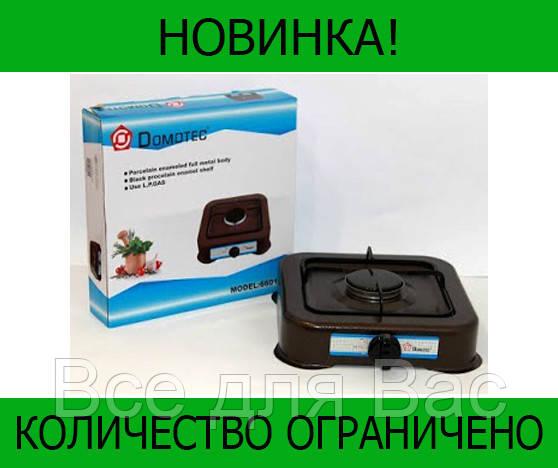 Газовая плита DOMOTEC MS-6601 Brown 1кф!Розница и Опт