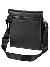 Мужская сумка планшет через плечо кожаный BRETTON BE 3547-3 black, фото 2
